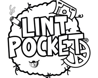 Lint Pocket coloring sheets