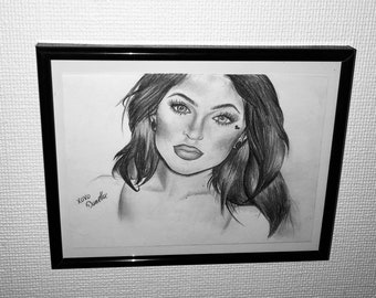 Kylie Jenner drawing