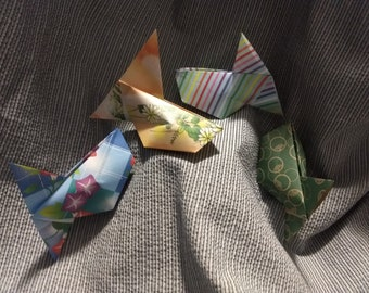 Shaker Origami Fish Makes A Fun Party Sound