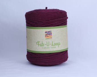 "T-Shirt Yarn - ""Winery""  ~160 yards, 130 m"