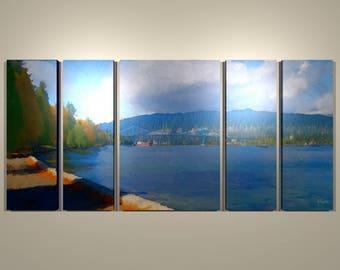 Stanley Park North Multi-panel Print