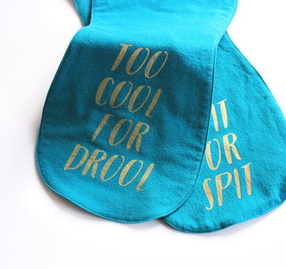 Burp cloth set. Burp cloths girl. Teal burp cloth. Cute baby gift. Funny baby gifts for mom. Baby gift under 20. Teal green baby gifts.