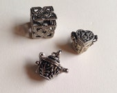 Wholesale Lot of Three Little Box Locket Charms
