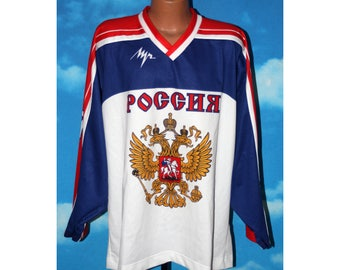 Russian National Team Hockey агеев #37 IIHF Jersey XL
