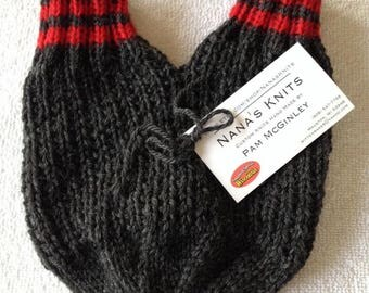 SMITTENS - Mittens 4 Lovers - Smitten only or 3 piece set-Wedding or Shower gift - Wool - Christmas - Valentines Day - Delivery 2018