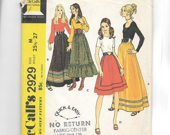 McCall's Misses' Set of Skirts Pattern 2929