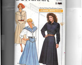Butterick Misses' Top and Skirt Pattern 5766