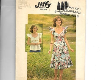 Simplicity Misses' Pullover Dress or Top Pattern 6965