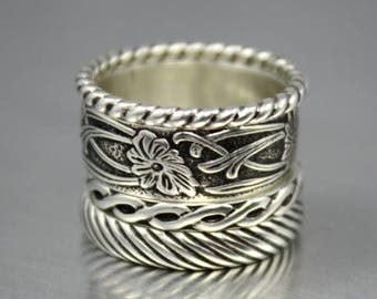 ON SALE TODAY Bohemian Stacking Rings Set of 4
