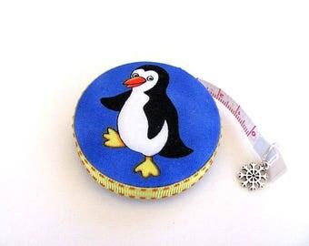 Tape Measure Happy Penguins Retractable Measuring Tape