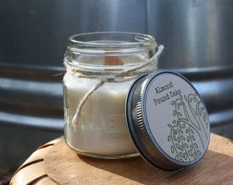 16oz with Pewter Lid all Natural Hand Poured Mason Jar Soy Candle , Soy Candle, Natural, Gift, Soy Candles Handmade, Wedding Candles