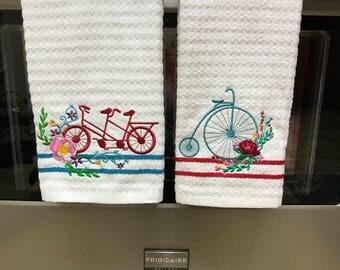 Bicycle/Tricycle Tea Towels