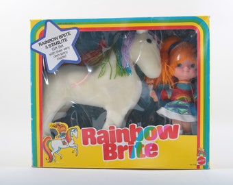 Mattel, Rainbow Brite and Starlite, Vintage, Toys, Set, In a box, Plush Body, Doll, Gift Set, 1983, Sealed ~ The Pink Room ~ 161004