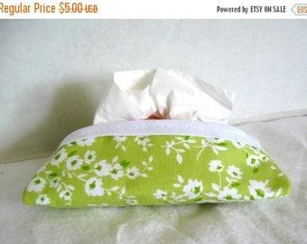 Flash Sale Floral Tissue Holder Lime Tissue Cozy Pocket Tissue Case
