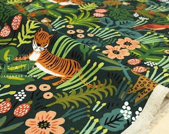 Cotton + Steel Menagerie canvas - jungle - hunter - 50cm