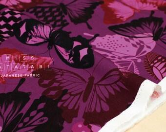 Cotton + Steel Flutter - flutter rayon - fuchsia - 50cm