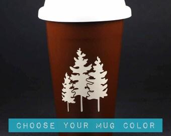 Family Trees Travel Mug w/ lid