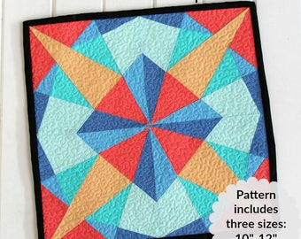 Kaleidoscope- PDF Pattern (On Sale)