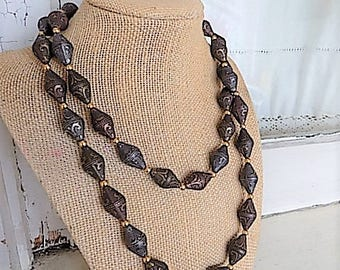 FREE SHIPPING Vintage Napier Beaded Necklace