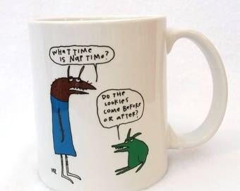 Nap Time  - monster mug