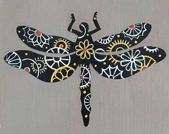 Steampunk Dragonfly