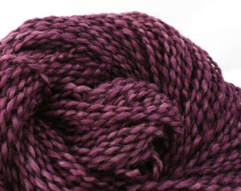 Middlefield Hand Dyed aran weight wool alpaca blend 200 yds 4oz Regal