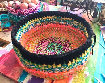 Crochet Basket or Bowl 16 inch