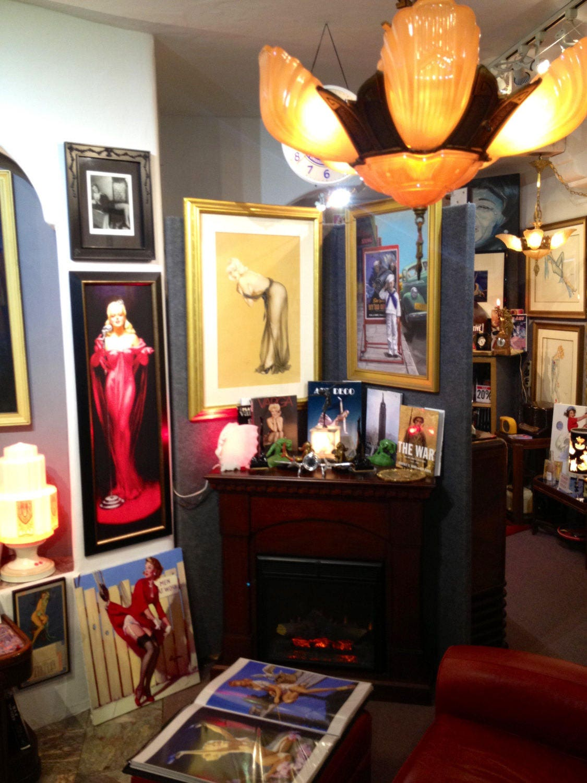 Alberto VARGAS The BLUE NUDE 1930 Nude Art Deco Pin-Up