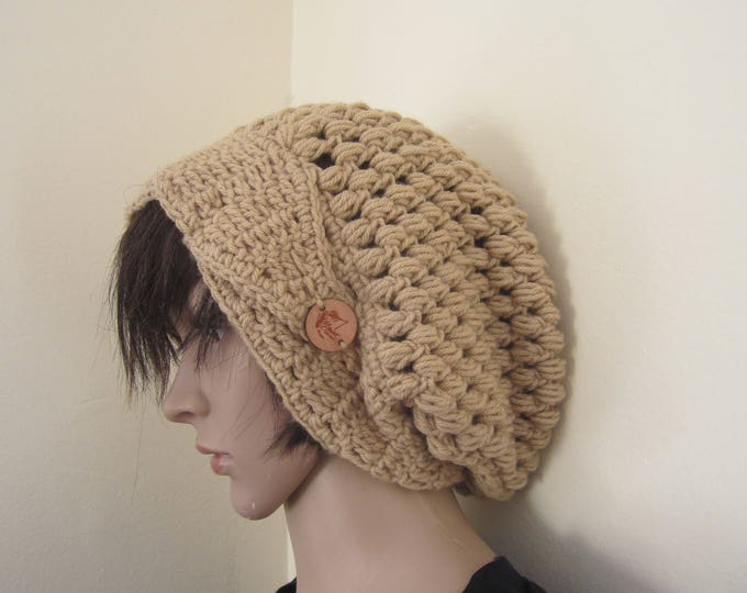 Crochet hat/Warm Winter Hat / Chunky Winter Hat for Women / Slouchy Beanie Hat / Crochet Beanie Hat / Chunky beanie / Birthday Gifts for Her