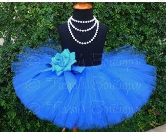 "SUMMER SALE 20% OFF Girls Tutu Skirt - Birthday Tutu - Dance Tutu - Design Your Own 10"" Sewn Tutu - Girls sizes 6 to 8"