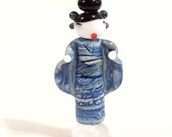 Misaki - Japanese Geisha Style Glass Lampwork Beads