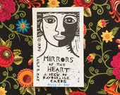 Cloth Wrapped Mirrors of the Heart Card Deck
