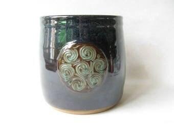 Utensil Holder with Celtic Knot Design, Spoon Holder, Celtic Decor