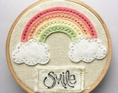 Smile - Stitched Rainbow ...