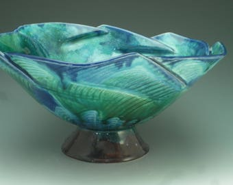Fluted Pasta Bowl