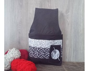Yarn bag, knitting or crochet project bag