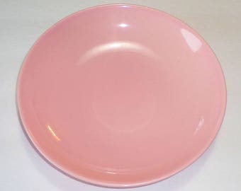 Vintage W.S. George RANCHERO Pink Coupe Bowl Vegetable Serving Soup NICE Rare