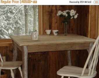 "ON SALE Driftwood Table (38""x36""x29""H)"