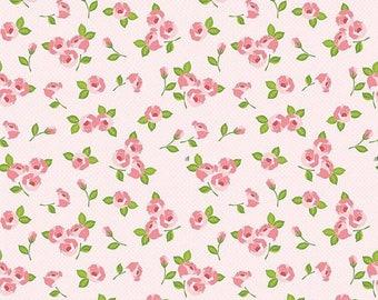20%OFF Riley Blake Designs Kewpie Love - Floral Pink