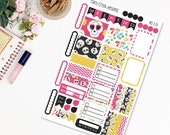 Sugar Skulls Mini Weekly Planner Sticker Kit for Plum Paper Family (ME) Planners 7 x 9/ Functional Stickers/ Checklists  #339