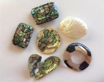 Abalone Shell & Mother of Pearl Destash