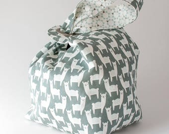 SNOWPACA- LARGE Original Binkwaffle Reversible Dumpling Bag for Knitting, Crochet, or As a Purse