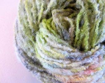 Meadow.  Handpainted Textured Wool Yarn