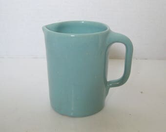 Vintage Bybee Pottery KentuckyTurquoise Cream Pitcher Creamer