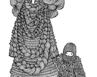Hopi  - Signed Archival Print, by Ani Castillo.