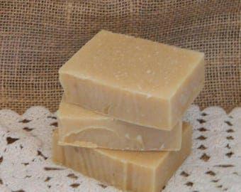 SALE White Tea Goats Milk Cold Processed Handmade Soap