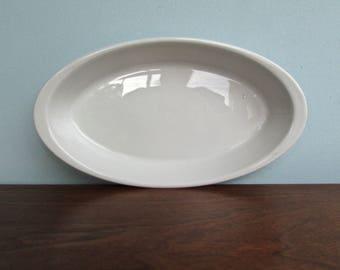 Schönwald Porcelain White-Porcelain Oval Baking Dish, Schönwald Lukull Feuerfest Qualitats Porzellan, Quality Professional Dishware