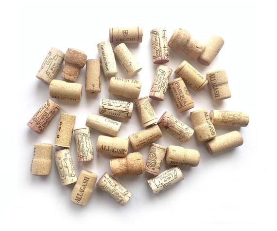 35 Wine Corks, Wine Cork Lot Supply, Used Wine Corks, Crafting Wine Corks,Lot of Thirty-FiveWine Corks, Wine Corks for Crafts, 30 Real Corks