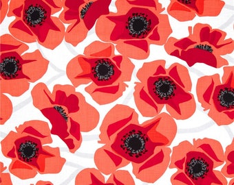 Modern Poppy by Jane Dixon for Andover Fabric - Buy 1 yard or more with quantity discounts