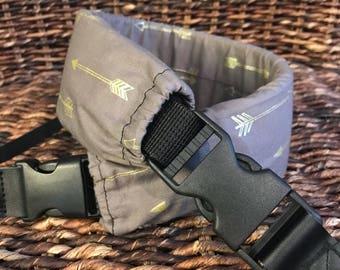 Deluxe Camera Strap, Padded Camera Strap, DSLR Strap, SLR Strap, Arrows